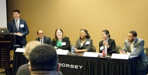 Halunen Law - Ben Kwan Moderates Jobs Panel for Law Students