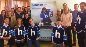 Halunen Law Community Connections: Minnesota State High School Hockey Fund Raiser