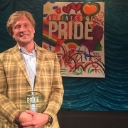 Clayton Halunen - Business of Pride Award