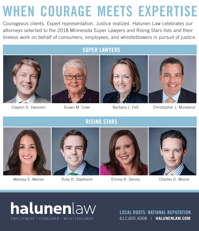 2018 Minnesota Super Lawyers List