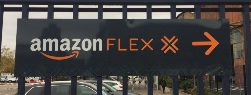Amazon Flex drivers