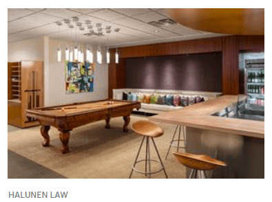 Halunen Law Offices Pool Table