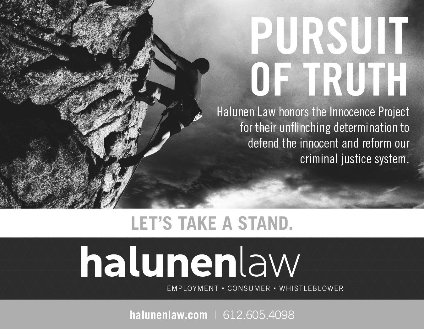 Halunen Law – Pursuit of Truth