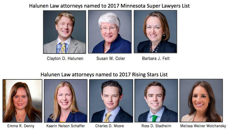 Halunen Law – Super Lawyers List